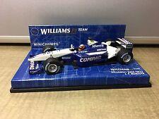 1/43 MiniChamps Williams F1 BMW FW23 J.P. Montoya Compaq Allianz
