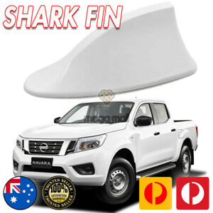 White Shark Fin Style Auto Ute Antenna Aerials For NISSAN NAVARA NP300 X-Trail