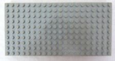 1 Vintage Lego Gray Base Plate 10 x 20 Thick Brick Platform - No Reverse Holes