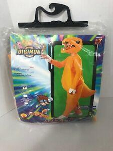 Digimon Monsters AGUMON Halloween Costume Rubie's New Kids S 4-6 Small fox kids