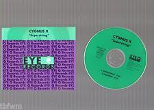 Cygnus X - Superstring - RARE CD EP - 2 TRACK MAXI - EYE Q RECORDS 013 CD - 1993