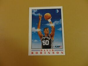 Fleer 1991-92 David Robinson Pro Visions Card #1 of 6