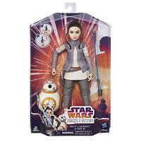 Star Wars Forces of Destiny Rey of Jakku & BB-8 Adventure Figure Doll Set New