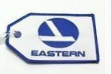 Eastern Airlines Classic Luggage ID tag, rare logo embroidered, collectible