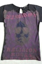 """RELIGION """"SOUND FROM WAY OUT 1971"""" OPEN-BACK ROCK TEE T-SHIRT TOP $144 XS"""
