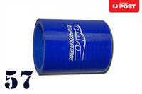 "4PLY Silicone Straight Coupler Hose intercooler ID = 57mm 2.25"" 2-1/4"""
