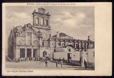 EVORA Ruins of IGREJA da GRAÇA. Old Postcard Alentejo PORTUGAL 1906
