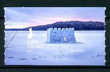 Finland 2017 MNH Europa Snow Castle 1v S/A Set Castles Architecture Stamps