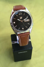 Vintage Seiko 5. Cal.7S26.Automatic.Day-Date Gents Watch.