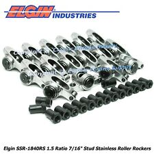 Stainless Steel Roller Rocker Arms 15 Ratio 716 Studs Chevy 400 350 327 305