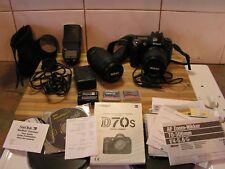 Nikon D70s Digital Camera Package + Nikkor 70-300mm Lens, Complete With Warranty