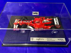 Hot Wheels 1/43 Ferrari 248-F1 2006 M.Schumacher Full Tobacco Livery