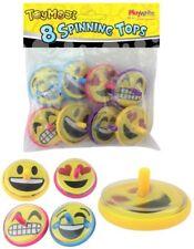 8 Emoji Drehen Oberseiten - Pinata Spielzeug Beute / Party Tüte Füllung Hochzeit