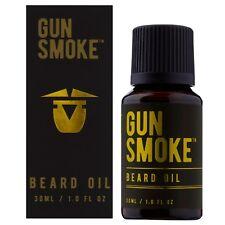 BEARDCARE GUN SMOKE Beard Mustache Grooming Oil 30ml Facial Hair Conditioner