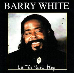 (CD) Barry White – Let The Music Play - Can't Get Enough Of Your Love Babe