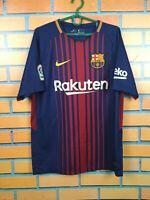 Barcelona Jersey 2017 2018 Home MEDIUM` Shirt Nike Football Soccer 847255-456