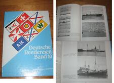 Deutsche Reedereien Band 10 von Gert Uwe Detlefsen limitierte Auflage