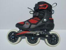 Rollerblade Macroblade 110 3Wd Men's Inline Skates -Black/Red -Size 8 l@K