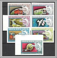 Hungary #2282-2287 UPU Issue Imperf MNH