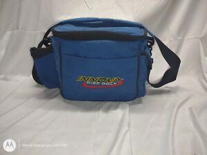 Innova Disc Golf Standard Bag, Blue, holds 12 discs