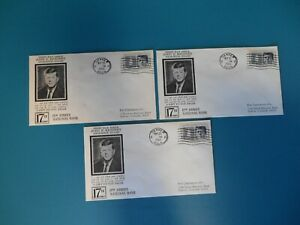 John F. Kennedy Memorial Envelopes with Stamps First Day issue