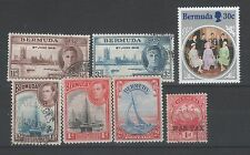 Colony Used Postage Bermudian Stamps