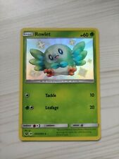 Rowlet Shiny Vault Mint Pack Fresh Rare Pokemon Card Hidden Fates SV2/SV94