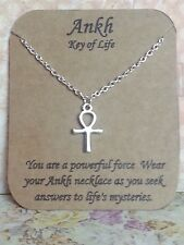 Egyptian Ankh Cross Key of Life Pendant Necklace Gfit Women Men