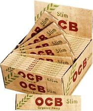OCB ORGANIC HEMP ROLLING PAPERS 10 BOOKLETS CHEAPEST ON EBAY!! BARGAIN GENUINE