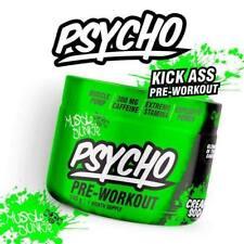 Psycho NEW Pre-Workout Powder 20 Servings Creatine Citrulline Caffeine