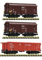 """Fleischmann N 829357 Güterwagen-Set der DB AG """"Neuheit 2020"""" - NEU + OVP"""