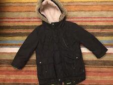 Ted Baker Boys Age 6 Black Winter Hooded Parka Jacket/Coat