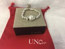 UNO De 50 Another Round Oh Bracelet Silver Pearl Pul1358bplmtl0m UNOde50