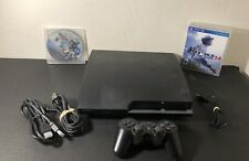 Sony Station 3 Slim Edition Black CECH-2001A Console System PS3 Tested