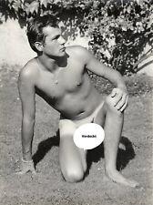 40x30cm Orig Foto Werner Wittmann 1960er Junge Mann nackt Akt Model gay photo 2