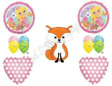 WOODLAND PRINCESS FOX Birthday Party Balloons Decoration Supplies Friends Girl