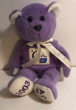 Relay For Life Handmade Limited Edition 2003 Bear Cancer ACS