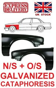 BMW 3 SERIES E30 82-94 NEW FRONT WING FENDER PANEL LEFT + RIGHT  PAIR GALVANIZED