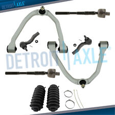 Front Upper Control Arms + Tierods for 2003 - 2006 2007 2009 G35 350Z RWD Coupe