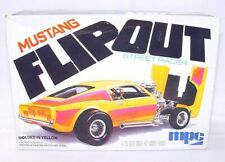 """MPC USA 1/25 FORD MUSTANG """"FLIP-OUT"""" STREET RACER DRAGSTER Kit New! MIB`78 Rare!"""