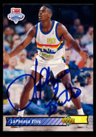La Phonso Ellis #4 signed autograph auto 1992-93 Upper Deck Basketball Card