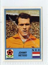 (Ga5462-100) Panini Europa 80 Sticker Cd #74, JOHNNY METGOD NEDERLAND 1980 VG-EX