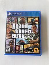 Grand Theft Auto V (Gta 5) Ps4 Playstation 4 With Manual