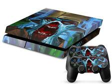 SONY PS4 PlayStation 4 SKIN Design Adesivo Pellicola Protettiva Set - Zombie