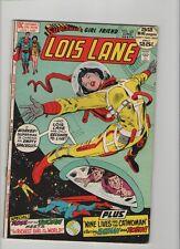 Superman's Girl Friend Lois Lane #123 - Batman & Robin App - 1972 (Grade 7.5) WH