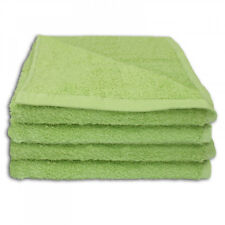 SERVIETTES DE TOILETTE 50 x 100 cm – LOT DE 2 - VERT CLAIR