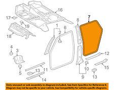 TOYOTA OEM 03-08 Corolla Interior-Rear Door Trim Left 6233402030B0