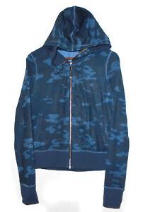 LULULEMON Camouflage NAMASKAR Yoga Hoodie Jacket CAMO Oil Slick Blue Lotus NEW 6