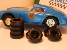 10 pneus URETHANE arrières  SCALEXTRIC  Ferrari 250 gt