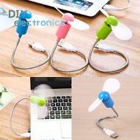 New Portable Flexible USB Mini Cooling Fan Cooler For Laptop Desktop Computer US